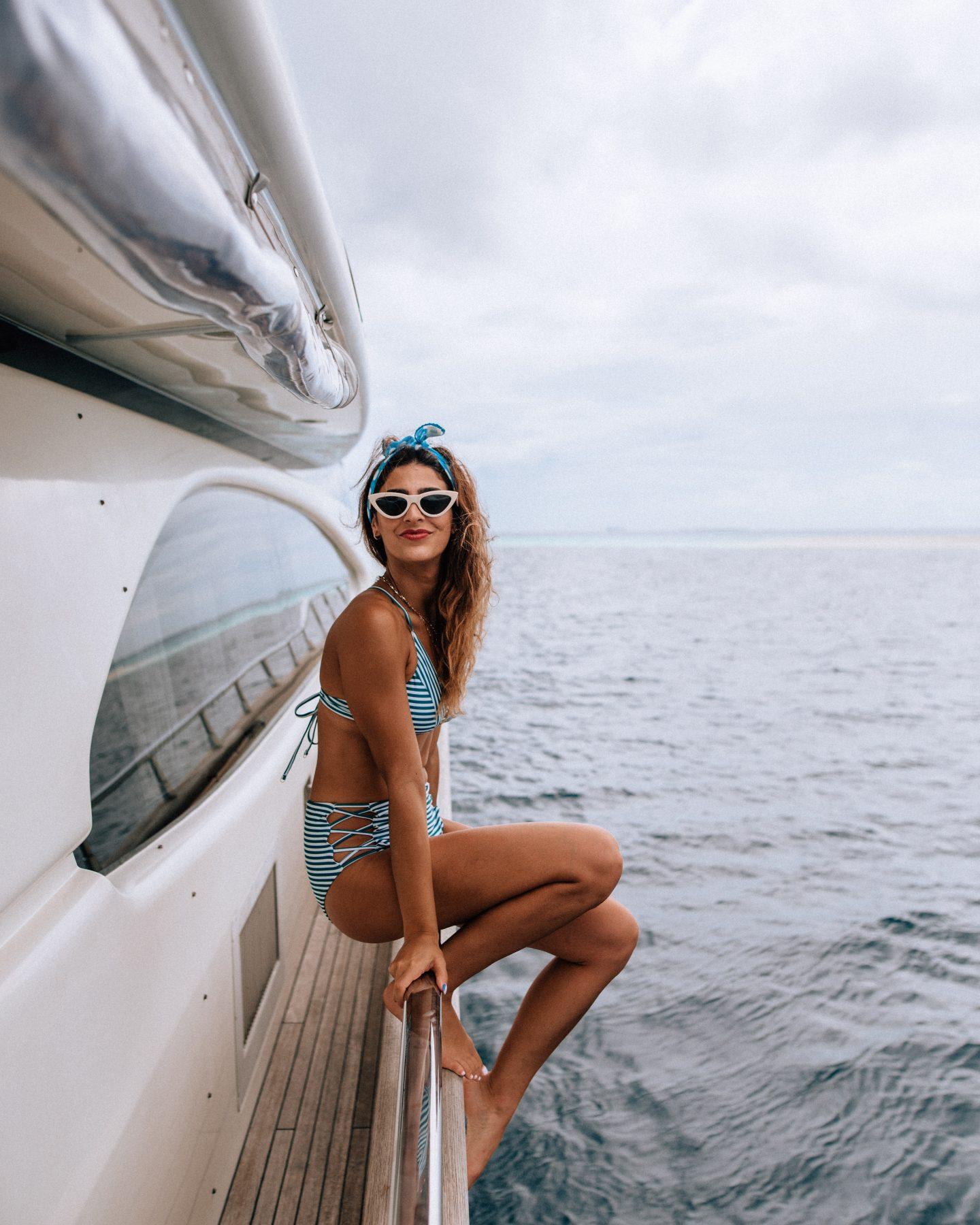 Nawaimaa luxury yacht in the Maldives