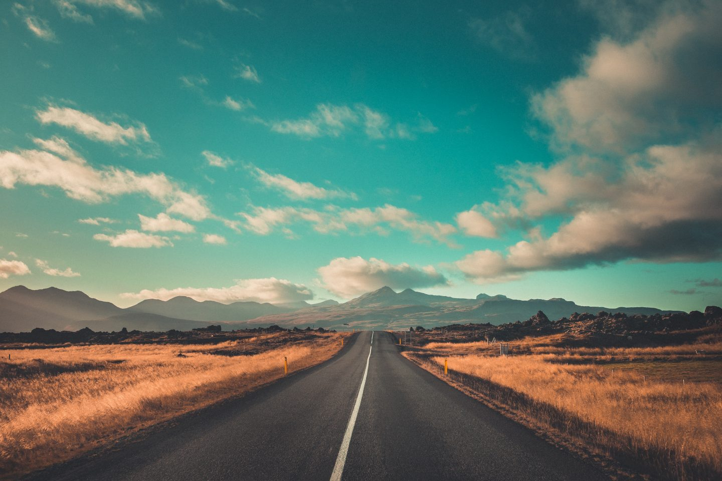 Views on a road trip in Iceland