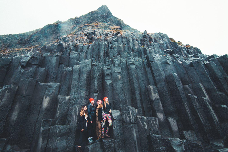 Basalt Columns on Black Sand Beach, Iceland | @lisahomsy | check out the blogpost on www.lisahomy.com