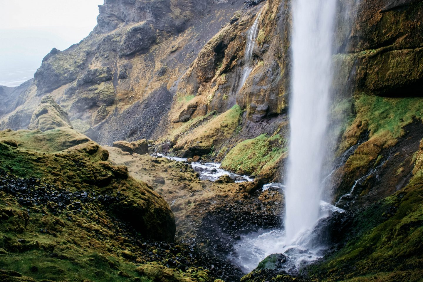 Unnamed waterfall in Iceland with Adventure Patrol