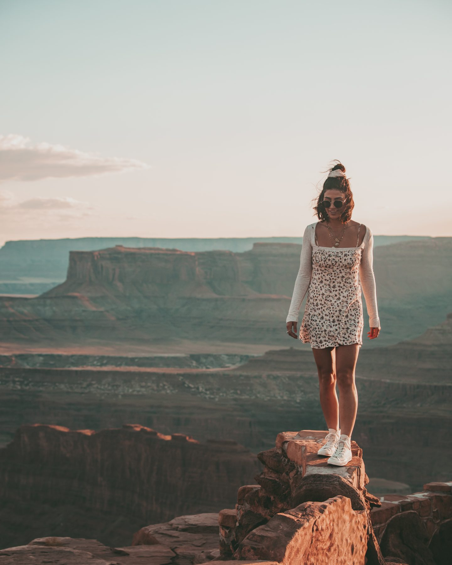 Lisa Homsy at Dead Horse Point