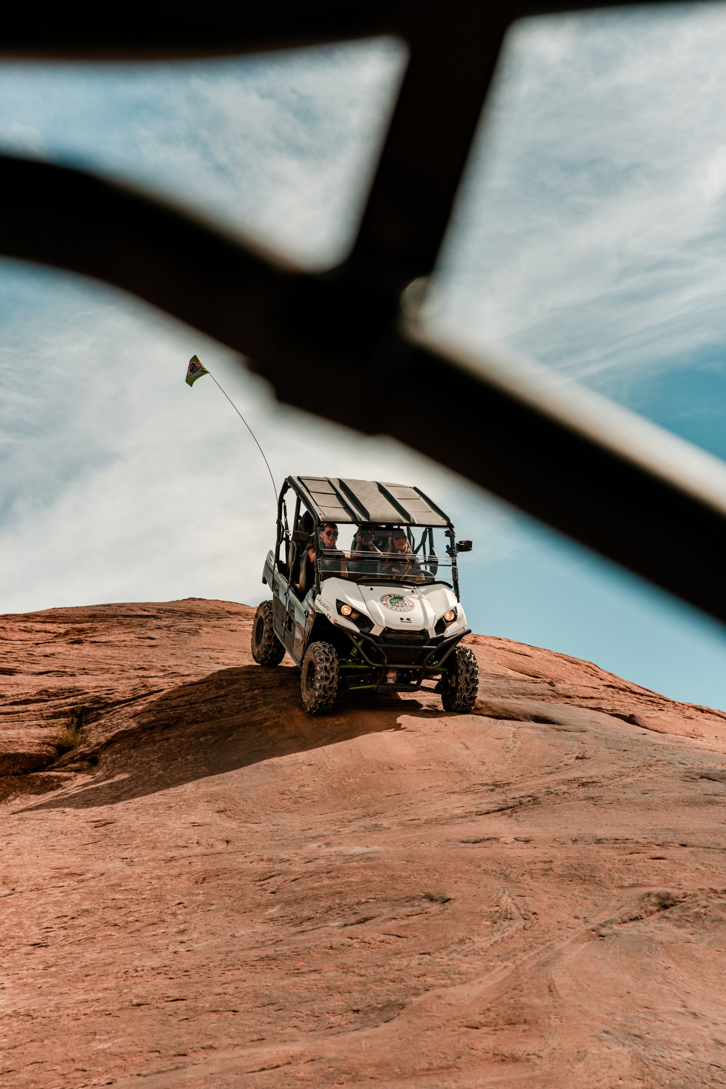 ATV on the trail at Hell's Revenge
