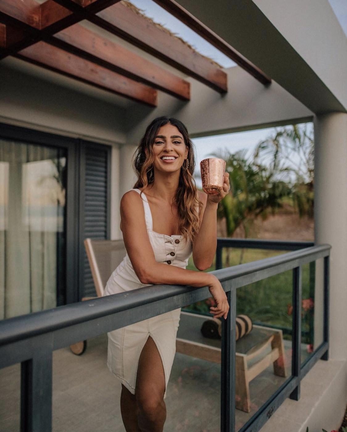 Morning coffee in Fiji