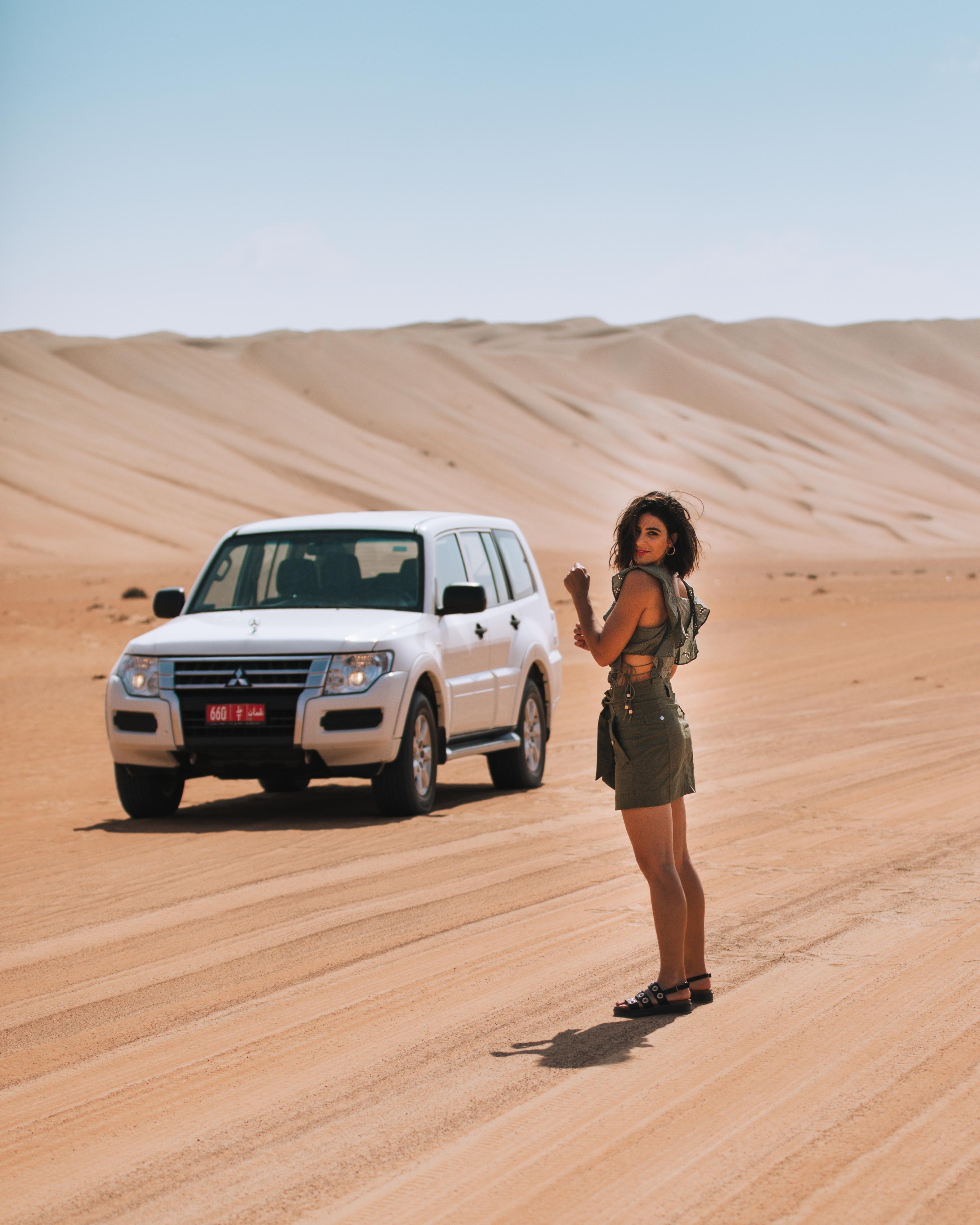 Oman desert road trip