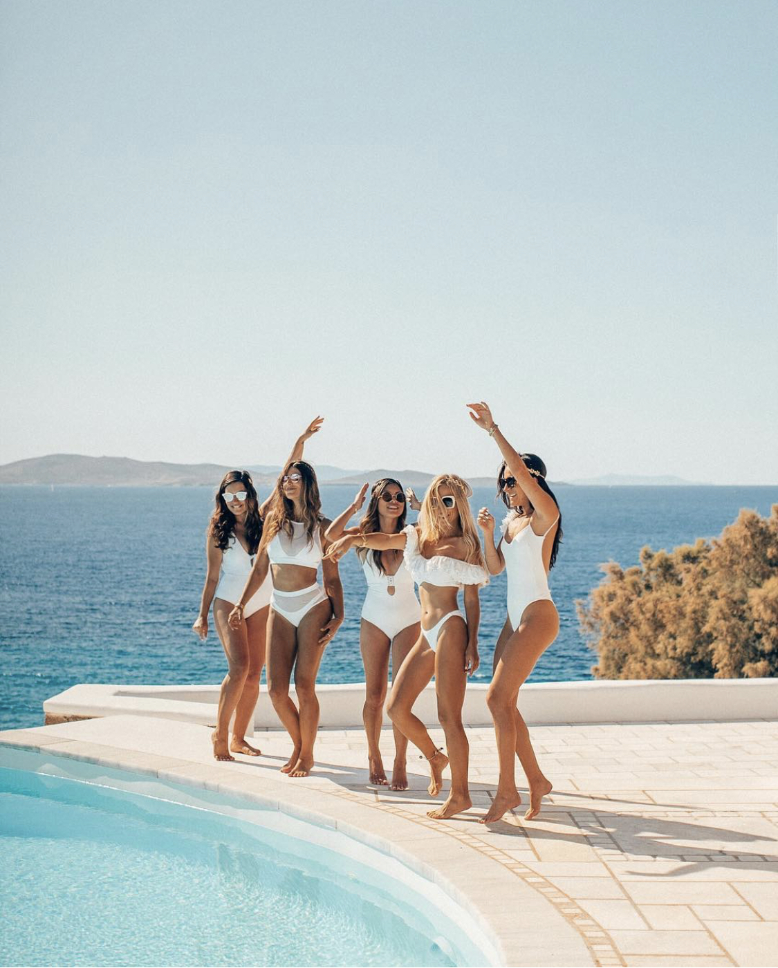 Top female Instagram travel influencers in Greece