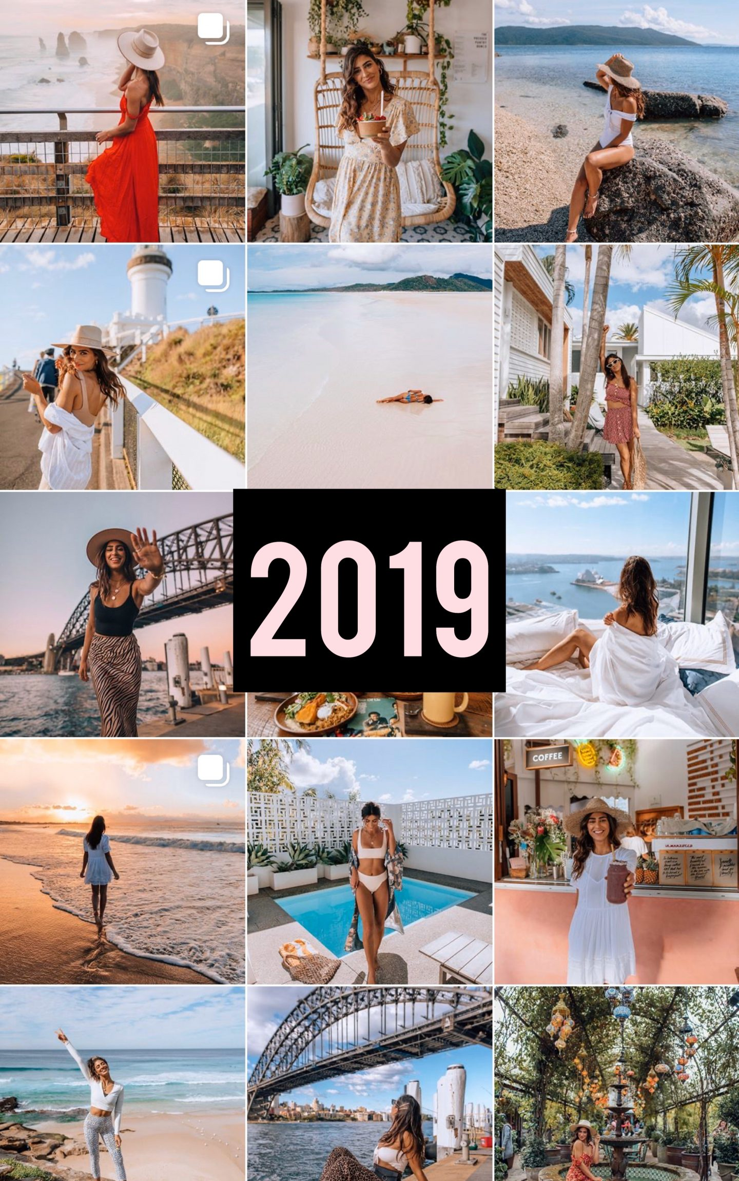 Lisa Homsy Instagram feed 2019