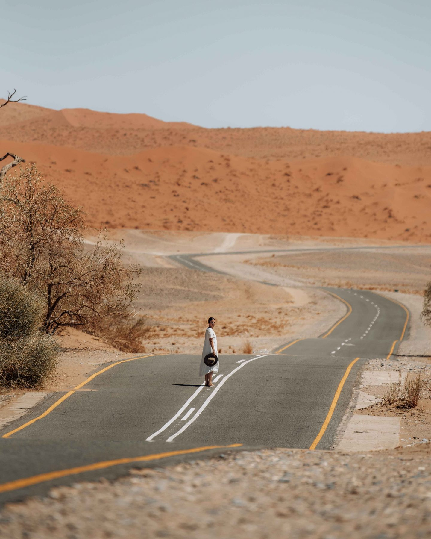 The epic views on a road trip in Namibia