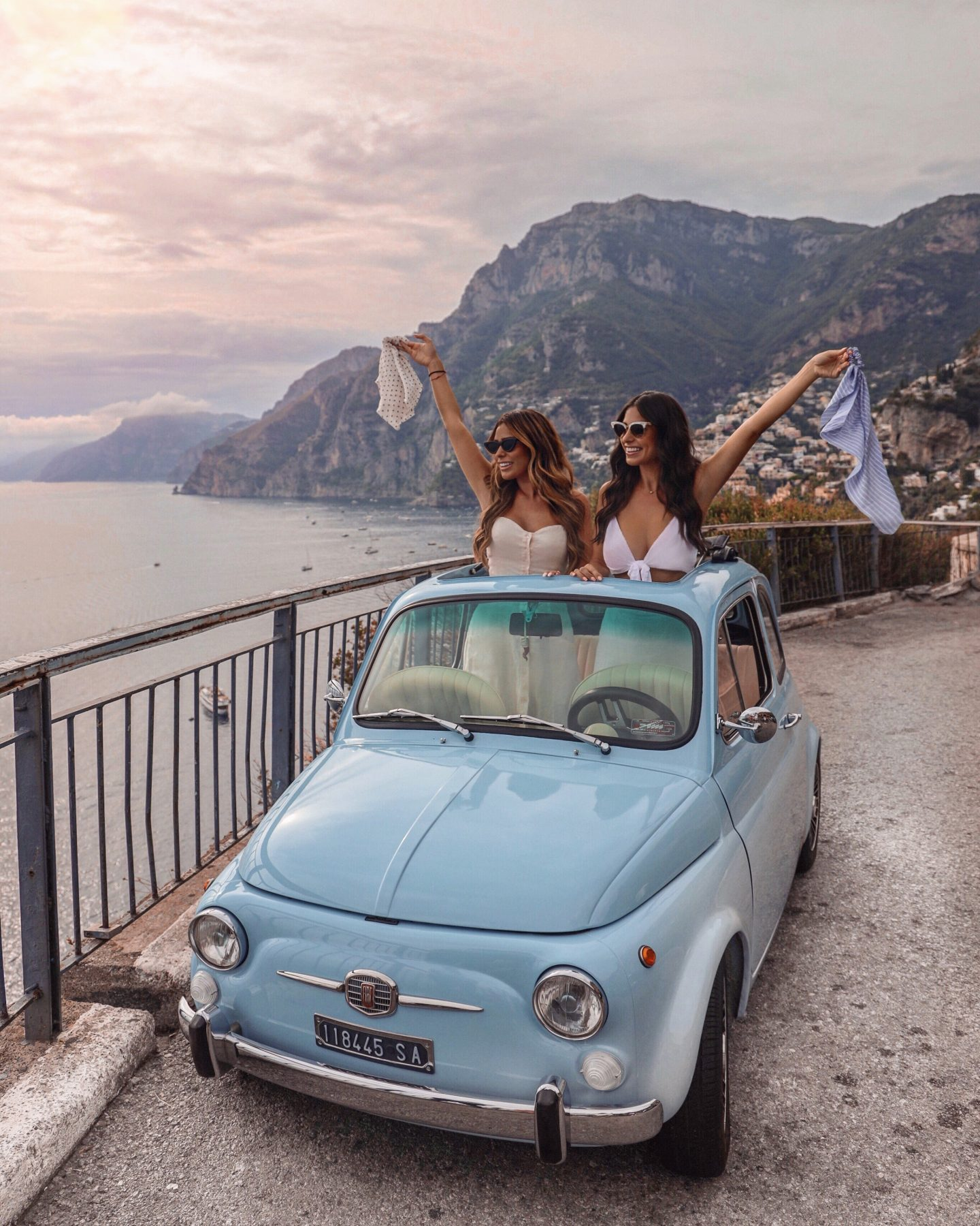 Road trip in Positano Italy