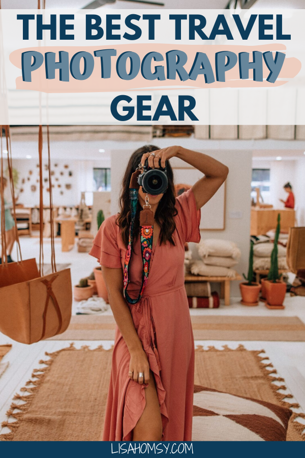 The travel photography gear I use for working as a full-time content creator and travel blogger. #travel #travelphotography #photography #giftsforphotographers #travelblogger | travel photography | photography equipment | best camera for travelers | best camera for travellers | best travel camera | best travel photography gear | cameras for bloggers | cameras for travel bloggers | best gifts for travelers | best travel gifts | best camera accessories | what to buy to take better photos