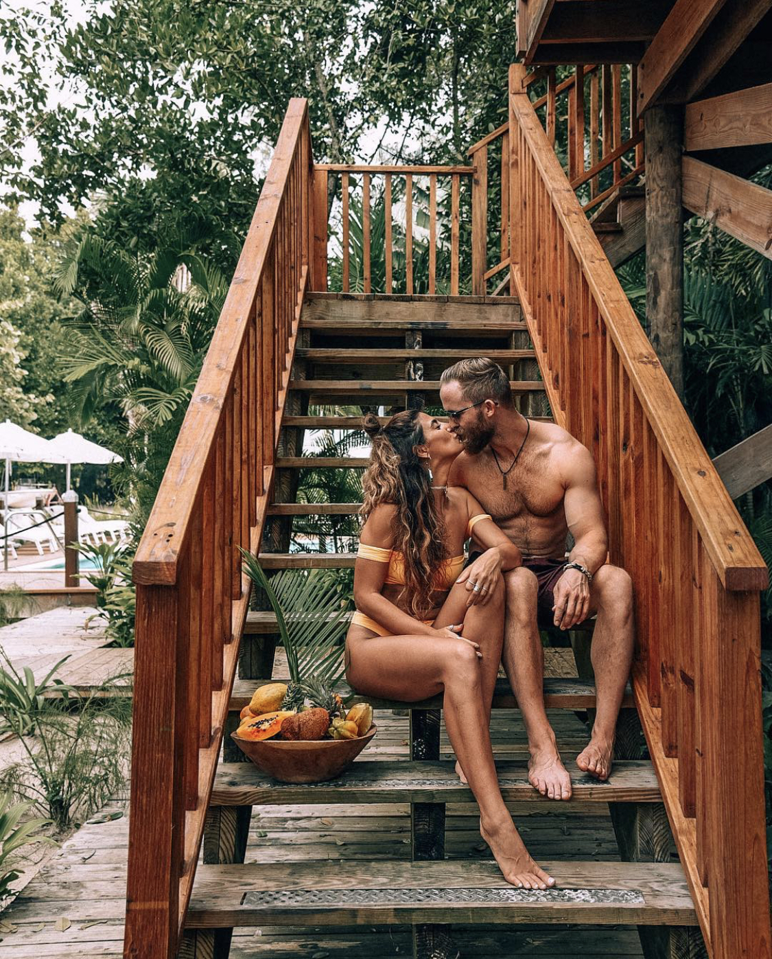Couple in Jamaica