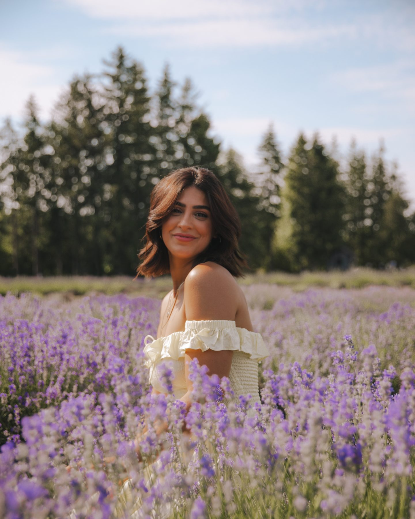 Visiting Maison Lavende, the lavender fields near Montreal, in July
