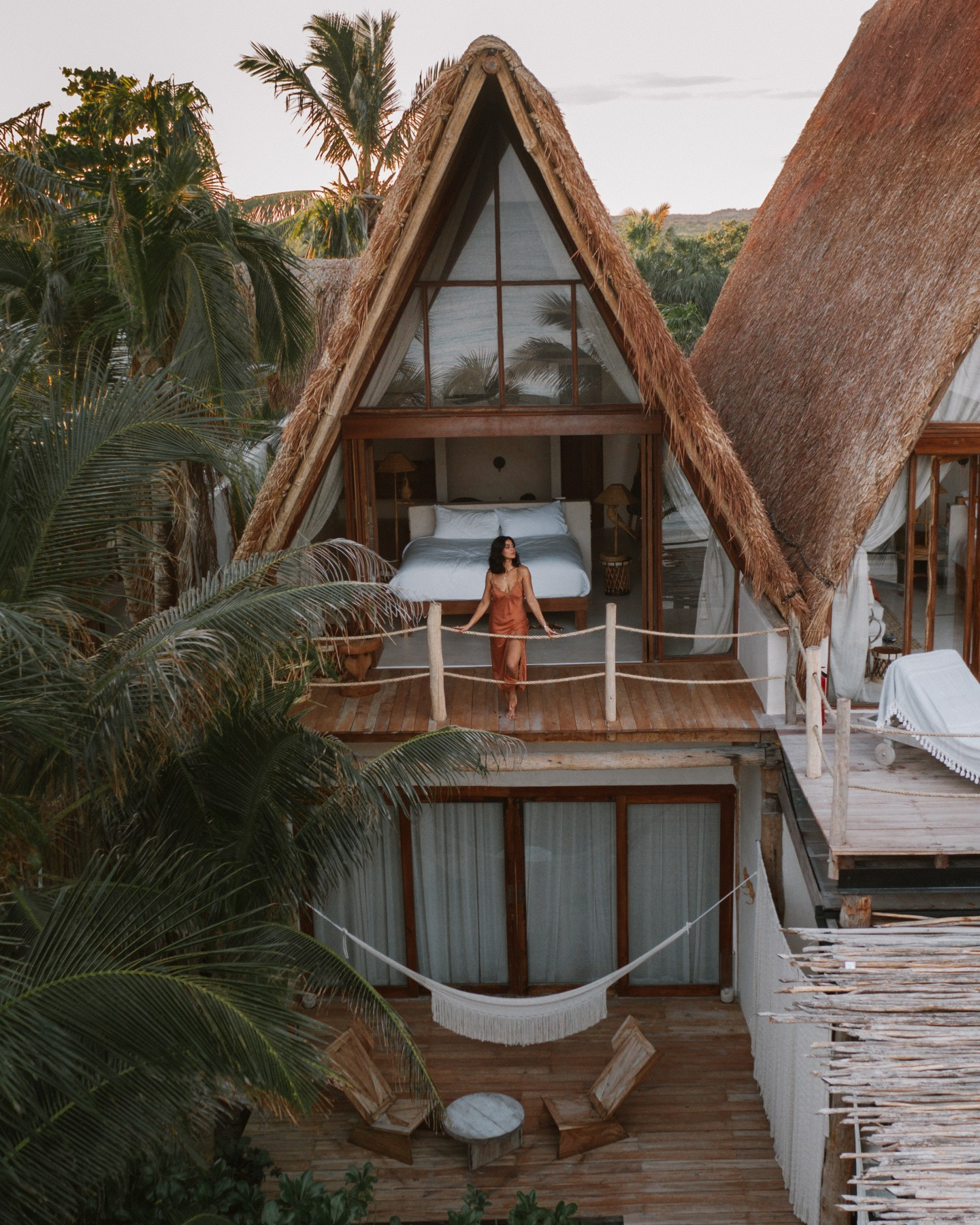 La Valise hotel in Tulum, Mexico is one of the best places to stay in Tulum